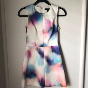 French Connection Dress in Spray Paint